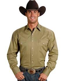 Stetson Snap Twill Western Shirt