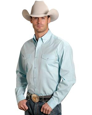 Stetson Solid Button Oxford Shirt