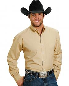 Stetson Solid Button Shirt