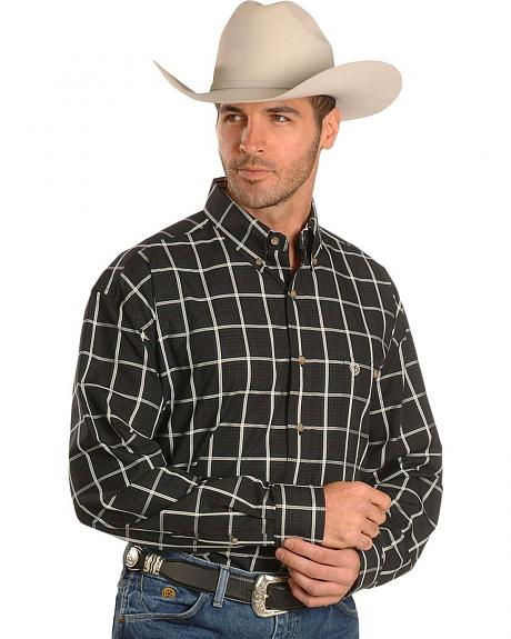 Wrangler George Strait Large Plaid Shirt