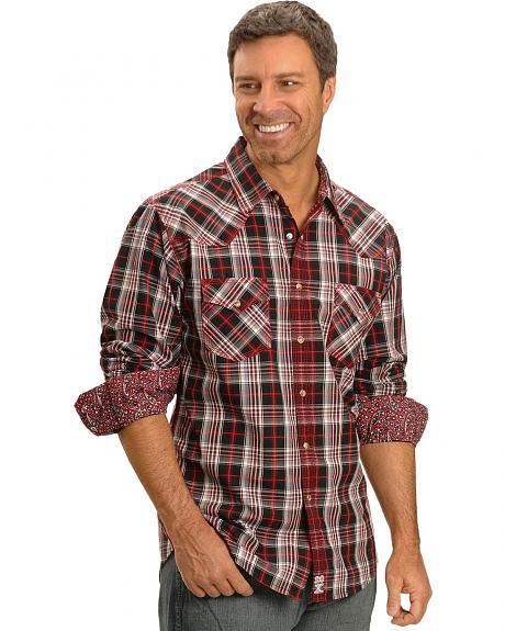 Wrangler 20X Plaid Snap Shirt