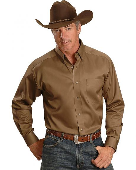 Ariat Men's Solid Twill Shirt