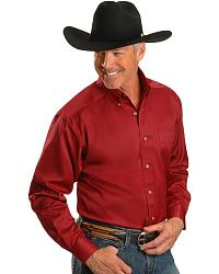 Ariat Cardinal Solid Twill Shirt at Sheplers