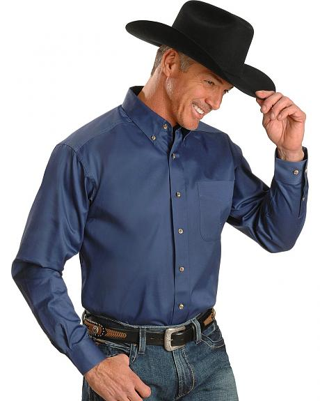 Ariat Cadet Blue Solid Twill Shirt