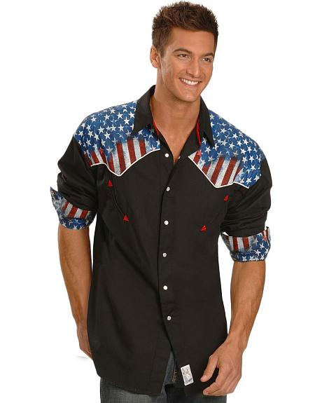 Panhandle Slim American Dream Retro Western Shirt