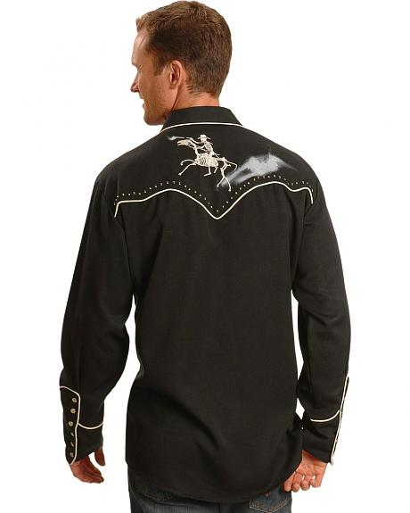 Scully Ghostrider Retro Western Shirt