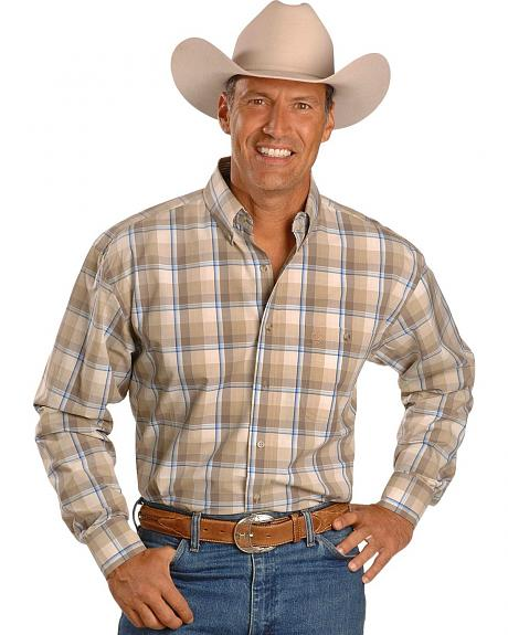 Wrangler George Strait Plaid Shirt