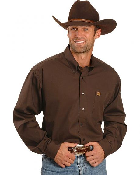 Cinch �  Solid Brown Shirt