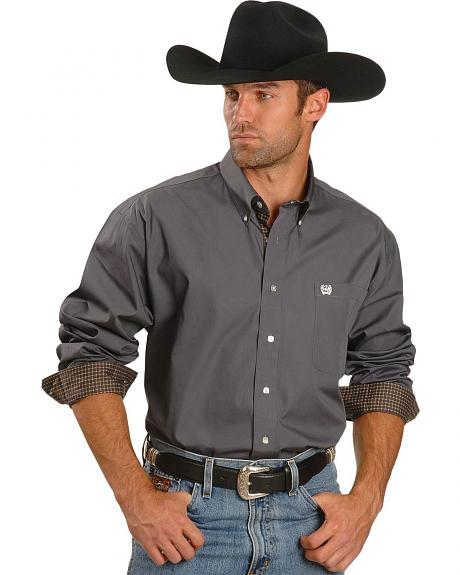 Cinch �  Solid Charcoal Shirt