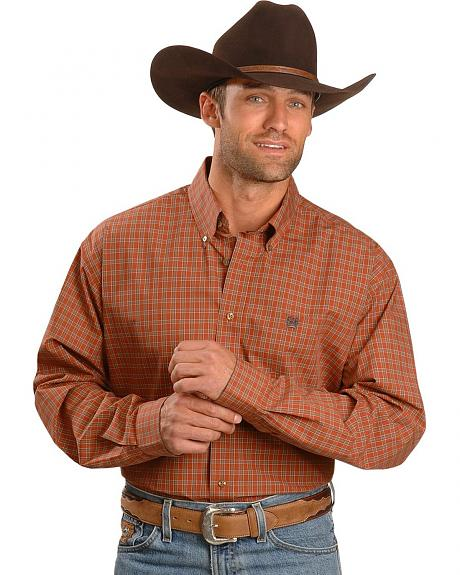 Cinch � Rusty Brick Check Shirt