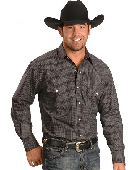 Exclusive Gibson Trading Co. Check Snap Western Shirt