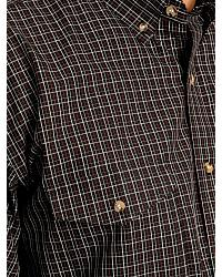 Exclusive Gibson Trading Co. Wine Plaid Shirt at Sheplers