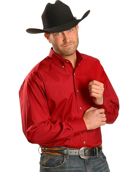 Ariat Red Solid Performance Shirt