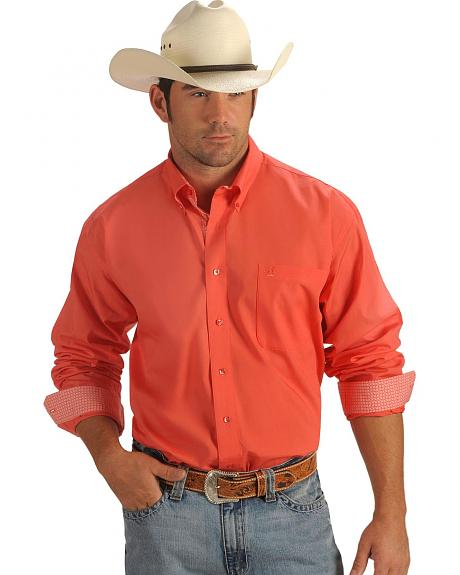 Cinch �  Coral Solid Weave Shirt