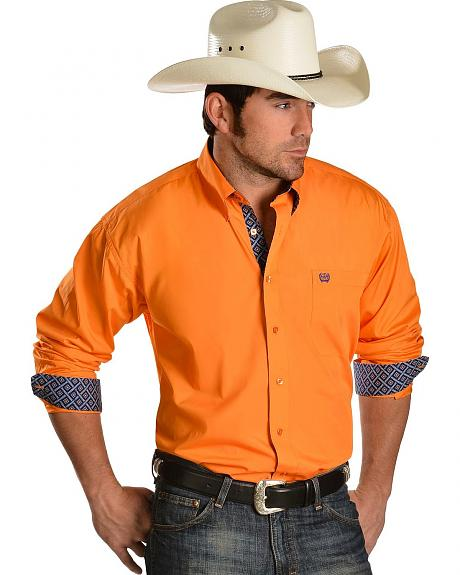 Cinch � Solid Orange Shirt