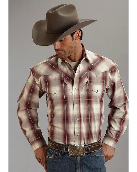 Stetson Plaid Long Sleeve Shirt