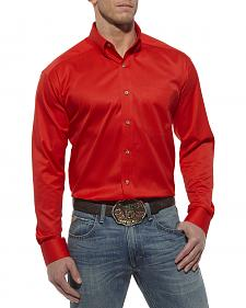 Ariat Berry Solid Twill Western Shirt