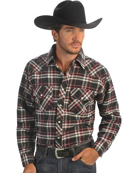 Exclusive Gibson Trading Co. Black & Red Flannel Shirt