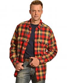 Woolrich Oxbow Bend Multi-Color Check Flannel Shirt