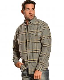 Woolrich Tiadaghton Field Grey Plaid Shirt