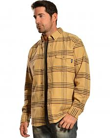 Woolrich Tiadaghton Tan Plaid Shirt