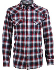 Cody James Men's Castle Creek Plaid Flannel Shirt