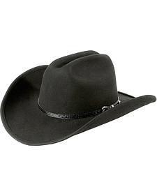Cattleman Wool Felt Cowboy Hat