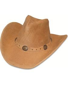 Minnetonka Leather Outback Hat