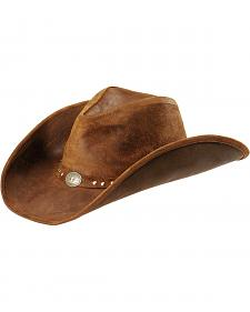 Minnetonka Leather Outback Hat