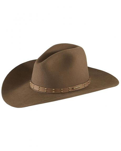 Stetson 4X Seminole Gus Buffalo Felt Cowboy Hat