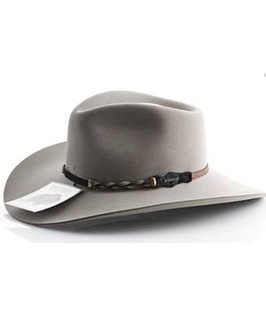 Stetson 4X Drifter Buffalo Wool Pinch Front Cowboy Hat