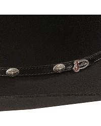Sheplers Exclusive - Justin Chisholm 4X fur western hat at Sheplers