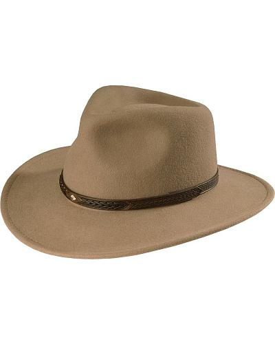 Scala Durango crushable wool cowboy hat $14.97 AT vintagedancer.com