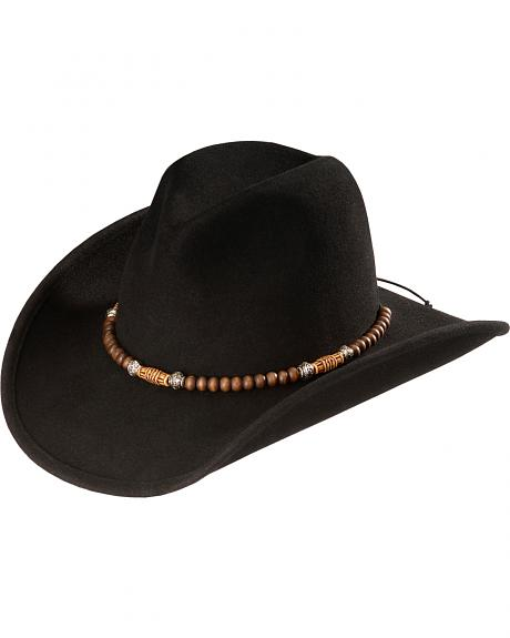 Kenny Chesney beaded wool cowboy hat
