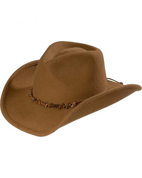 Kenny Chesney crushable wool cowboy hat