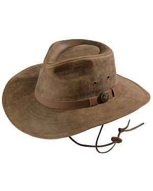 Outback Trading Co. Kodiak Leather Hat