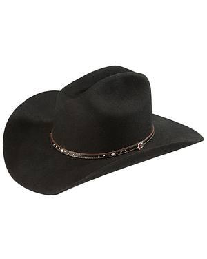 Justin 2X Black Hills Wool Cowboy Hat