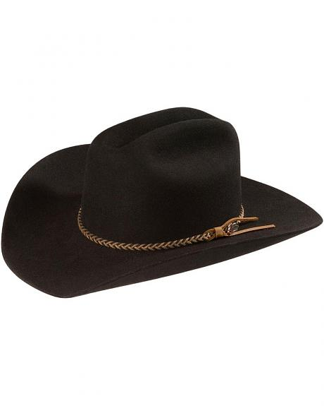 Sheplers Exclusive - Justin Cole 4X Fur Felt Western Hat