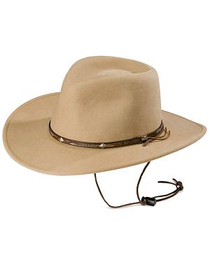 Stetson Mountain View Crushable Wool Cowboy Hat