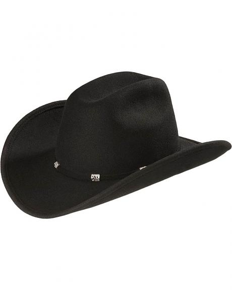 Stetson Black Eagle Crushable Wool Cowboy Hat