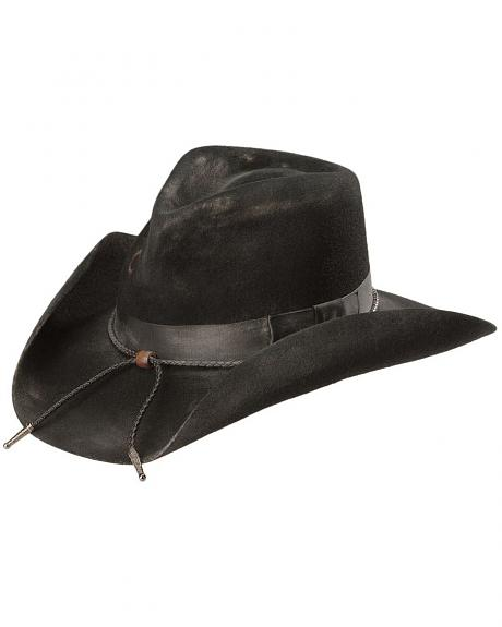 Charlie 1 Horse Dusty Desperado 3X  Wool Cowboy Hat