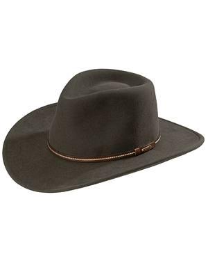 Stetson Gallatin Sage Green Crushable Wool Hat