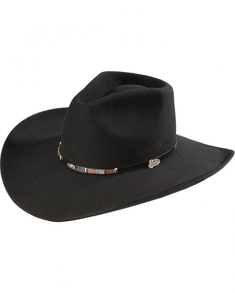 Sheplers Exclusive - Justin 4X Big Rig Fur Felt Western Hat