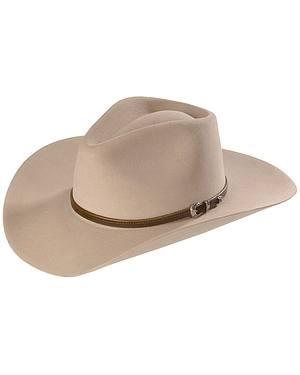 Stetson 4X Buffalo Felt Seneca Pinch Front Western Hat
