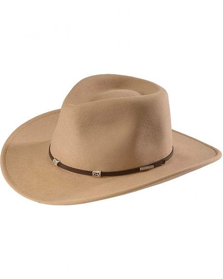 Stetson Jerome Crushable Wool Felt Outback Hat