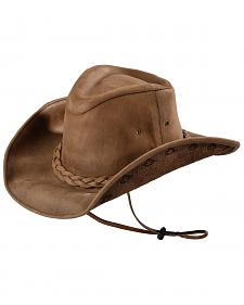 Bullhide Men's Melbourne Leather Hat