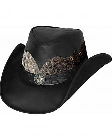 Bullhide Men's Comanche Leather Hat