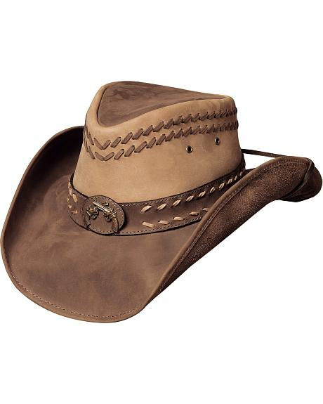 Bullhide Hideout Leather Hat