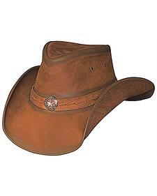 Bullhide Copper Creek Leather Hat