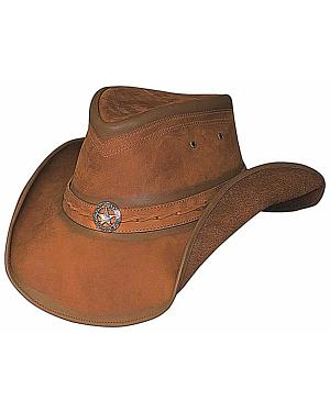 Bullhide Copper Creek Leather Hat